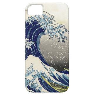 PixDezines Vintage, Great Wave, Hokusai 葛飾北斎の神奈川沖浪 iPhone 5 Case