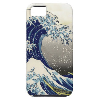 PixDezines Vintage, Great Wave, Hokusai 葛飾北斎の神奈川沖浪 iPhone 5 Cases
