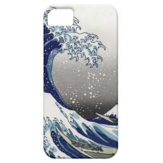 PixDezines Vintage, Great Wave, Hokusai 葛飾北斎の神奈川沖浪 iPhone 5 Covers
