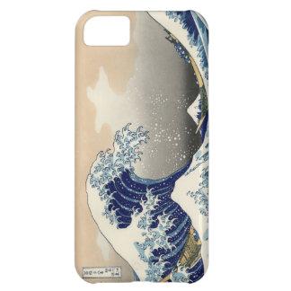 PixDezines Vintage, Great Wave, Hokusai 葛飾北斎の神奈川沖浪 iPhone 5C Cover