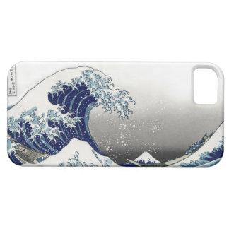 PixDezines Vintage, Great Wave, Hokusai 葛飾北斎の神奈川沖浪 iPhone SE/5/5s Case