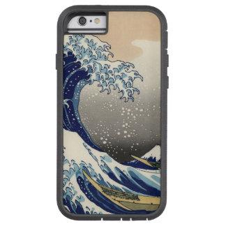 PixDezines Vintage, Great Wave, Hokusai 葛飾北斎の神奈川沖浪 Tough Xtreme iPhone 6 Case