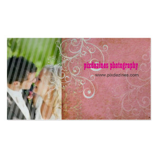 PixDezines Vintage Grunge Damask / Pink Business Cards