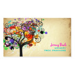 PixDezines Vintage Grunge Tree Trimmers ♥♥♥♥ Double-Sided Standard Business Cards (Pack Of 100)