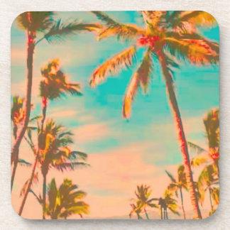 PixDezines vintage hawaiian beach Beverage Coaster