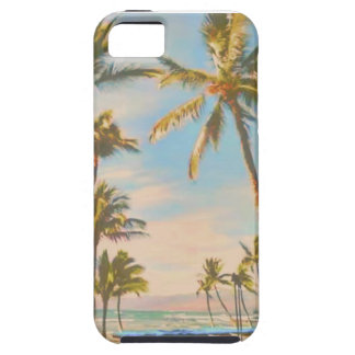 PixDezines vintage hawaiian beach iPhone 5 Case
