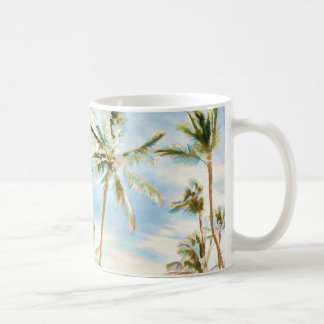 PixDezines Vintage Hawaiian Beach Coffee Mug