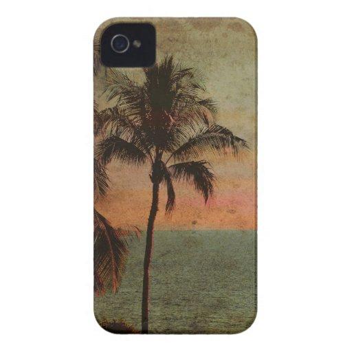 PixDezines Vintage Hawaiian Beach, hapuna Case-Mate iPhone 4 Cases