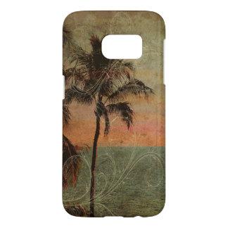 PixDezines Vintage Hawaiian Beach, hapuna Samsung Galaxy S7 Case