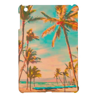 PixDezines vintage hawaiian beach Cover For The iPad Mini