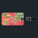 """PixDezines vintage hawaiian beach scene/coral Luggage Tag<br><div class=""""desc"""">PixDezines vintage hawaiian beach scene beautiful and nostalgic.  Copyright &#169; 2008-2017 PixDezines.com™ and PixDezines™ on Zazzle.com. All rights reserved.</div>"""