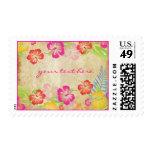 PixDezines Vintage Hawaiian Hibiscus Leis/DIY Stamps