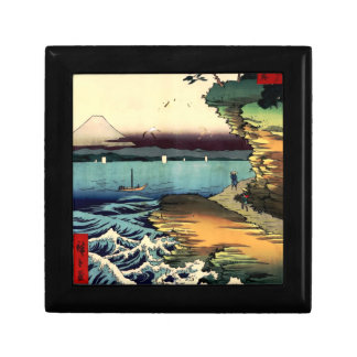 PixDezines Vintage, Mt. Fuji 房州保田ノ海岸 Keepsake Box
