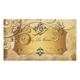 PixDezines vintage ornamental swirls Business Card