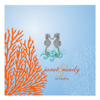PixDezines Vintage Seahorse coral Announcement