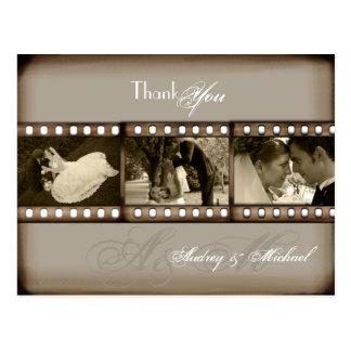 PixDezines Vintage Wedding Photos Thank you Postcard