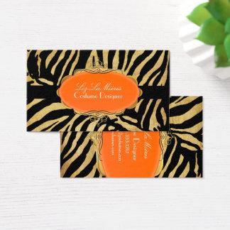 PixDezines Vintage zebra Business Card