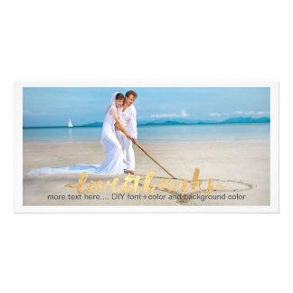 PixDezines wedding photo thank you/DIY background Card