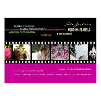 PixDezines wedding planners diy colors+fonts Business Card