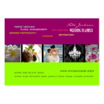 PixDezines wedding planners/diy colors+fonts Large Business Cards (Pack Of 100)