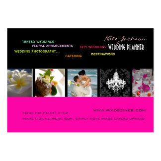 PixDezines wedding planners diy colors+fonts Business Card Templates