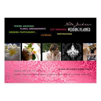 PixDezines wedding planners diy colors+fonts Business Cards