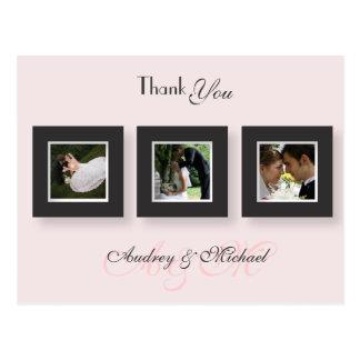 PixDezines Wedding Thank you photos/DIY color Postcard
