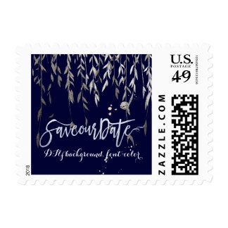 PixDezines Weeping Willow/Save Date Postage