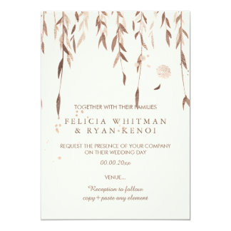 PixDezines Willow/Faux Pink Gold/DIY background Card