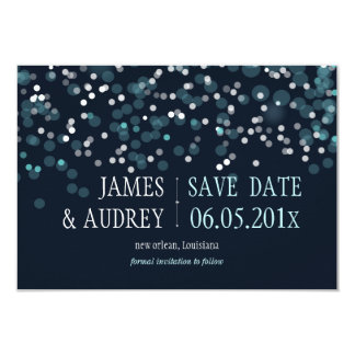 PixDezines winter save the date/DIYcolor Personalized Invitation