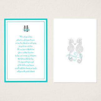 PixDezines Wishing Well (Chubby Business Cards) Business Card