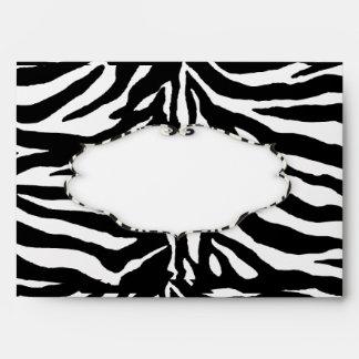 PixDezines Zebra stripes, Envelopes for Divas