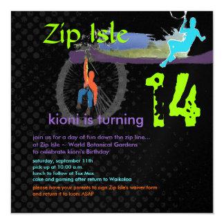 PixDezines Zip Line/DIY background color Card