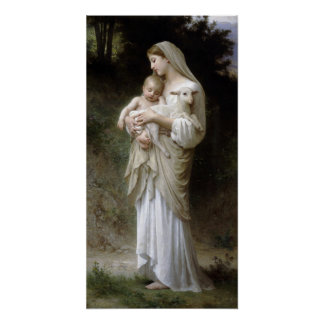PixDezinves L'innocence by Bougeureau painting Poster