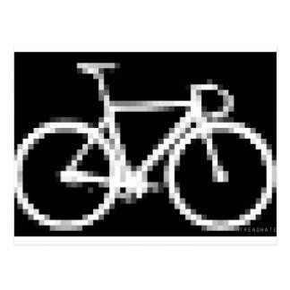 Pixed Gear Bike Postcard