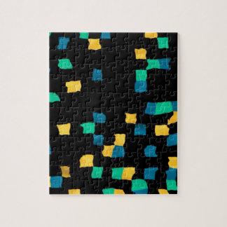 pixel abstracto puzzle