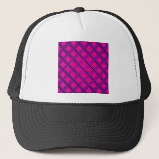 Pixel art background trucker hat