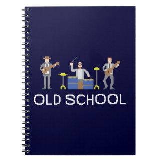 Pixel Art Band - Paper Notebook