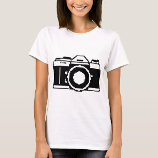 Pixel Art Camera Shirt