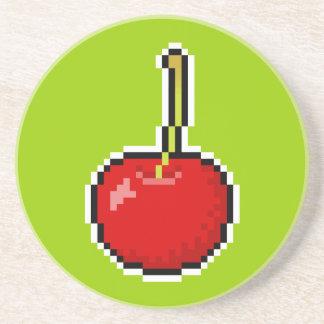 Pixel Art Cherry Coaster