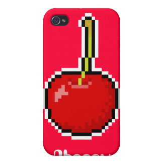 Pixel Art Cherry Speck Case Cases For iPhone 4