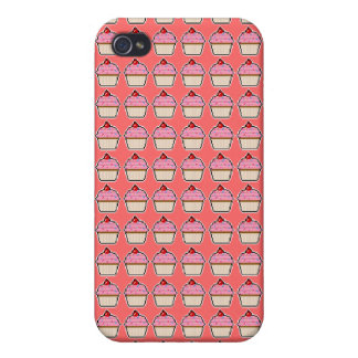 Pixel Art Cupcake Speck Case Covers For iPhone 4