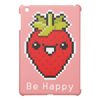 Pixel Art Cute Strawberry Speck Case iPad Mini Cover