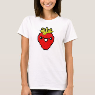 Pixel Art Cute Strawberry T-Shirt