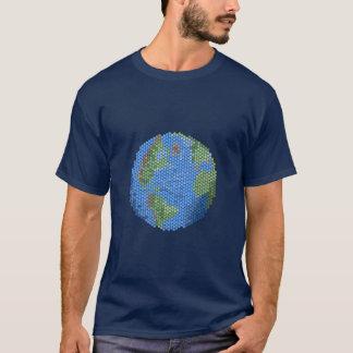 Pixel Art Globe T-shirt