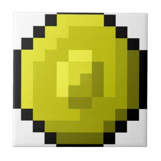 Pixel Art Gold Coin Tile