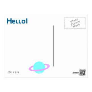 pixel art love post card