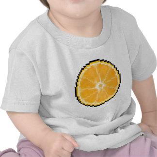 Pixel Art Orange Shirts