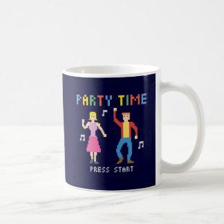 Pixel Art Party Time - Mug