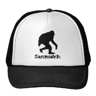 Pixel Art Sasquatch Mesh Hats